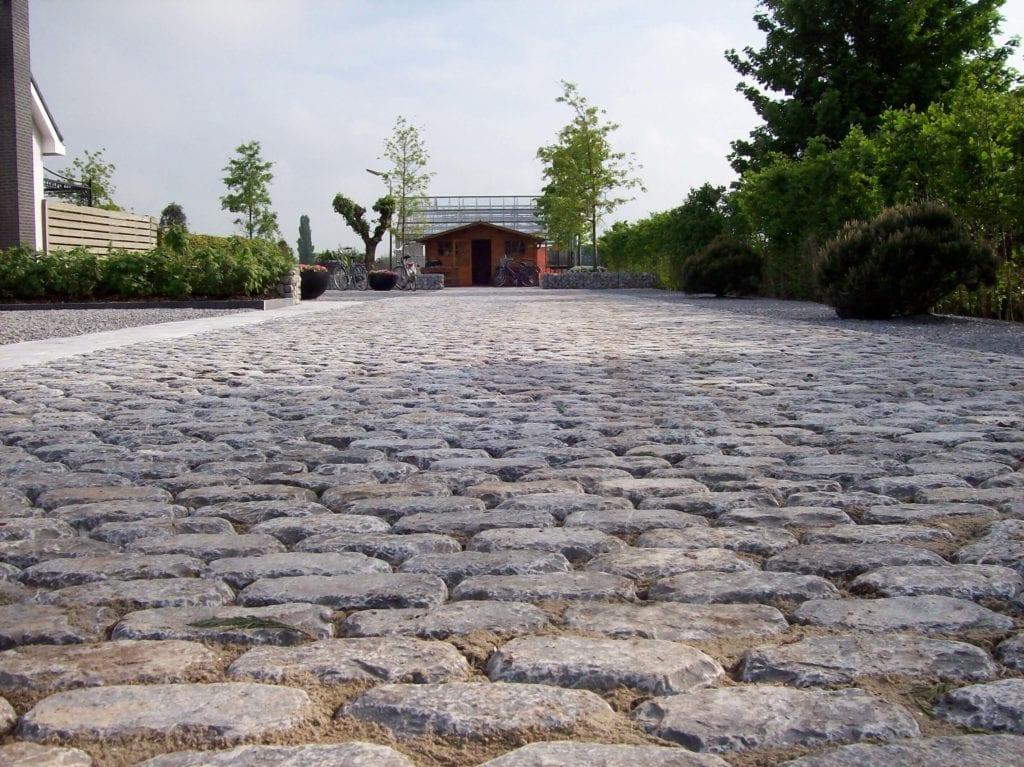 Oprit van natuursteen Country stones